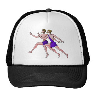 Sprint Runner Trucker Hats