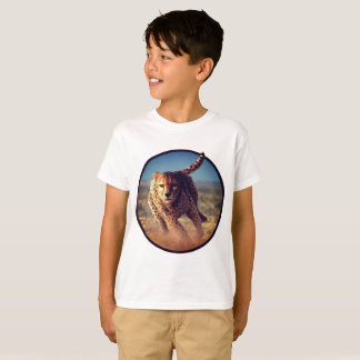 Sprinting Cheetah Artwork T-Shirt