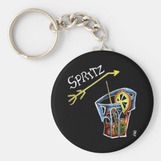 Spritz Aperol Accessories and Gifts - Venice Italy Key Ring