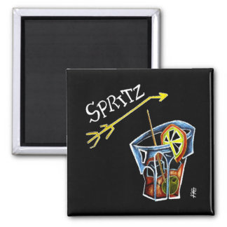 Spritz Aperol Accessories and Gifts - Venice Italy Magnet