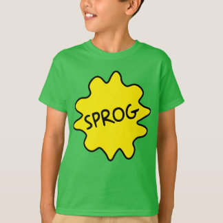 Sprog, British Slang Children's Tee