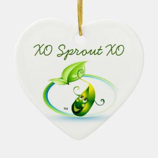 Sprout Heart By Pâtisseries Poétique de Muse Christmas Ornament