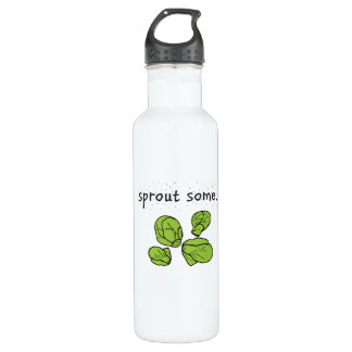 sprout some. (Brussels sprouts) 710 Ml Water Bottle