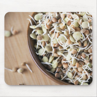 Sprouted Lentils Mouse Pad