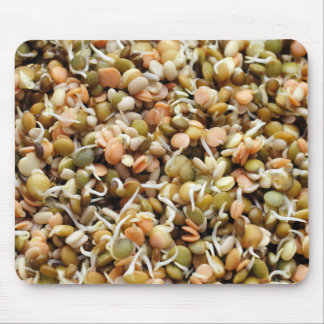 Sprouting Lentils Mix Mouse Pad