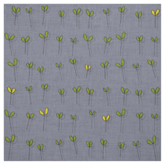 sprouts amethyst fabric