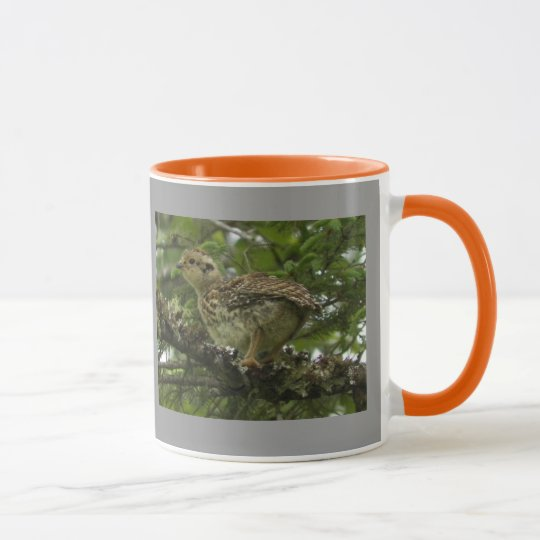 Spruce Grouse Chick Mug