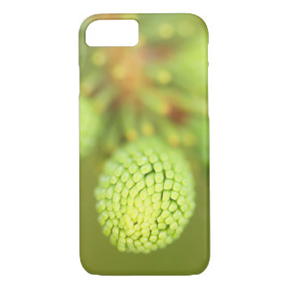 Spruce Tree Phone Case, Macro Nature Photography iPhone 8/7 Case