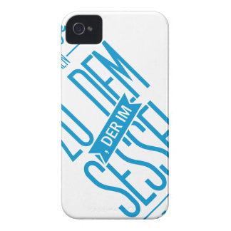 Spruch_Sessel_mono png Case-Mate iPhone 4 Case