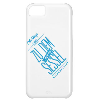 Spruch_Sessel_mono png iPhone 5C Cover