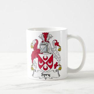 Spry Family Crest Basic White Mug