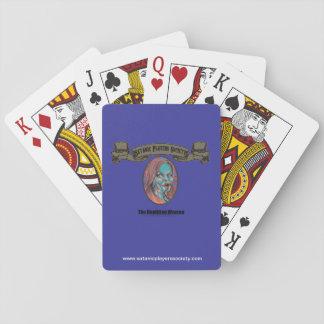 SPS Reptilian Woman Playing Cards