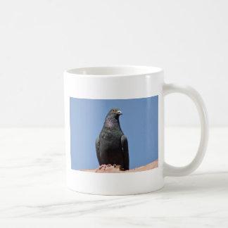 Spud the pigeon coffee mug
