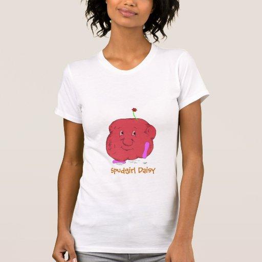 Spudgirl Daisy womens t-shirt