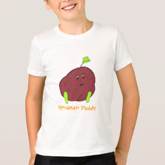 Spudman Paddy boys ringer t-shirt