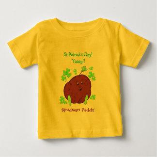 Spudman Paddy St Patrick's Day infant t-shirt