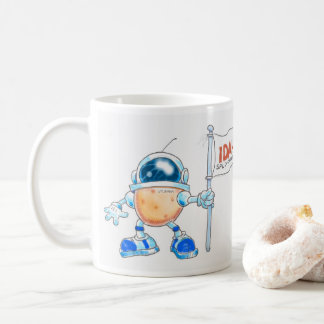 Spudnik Claims the Moon for Idaho! Coffee Mug