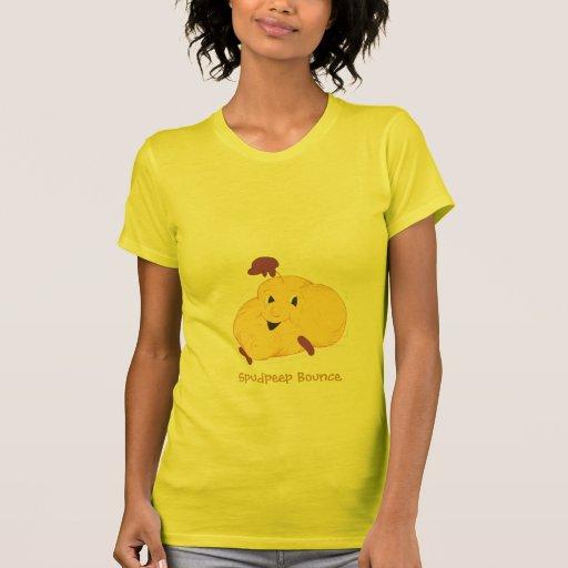 Spudpeep Bounce womens t-shirt