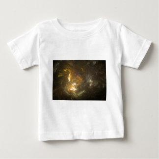 Spun Fractal Gold Baby T-Shirt