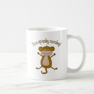 Spunky Monkey Basic White Mug