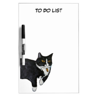 Spunky the Cat Dry Erase Board