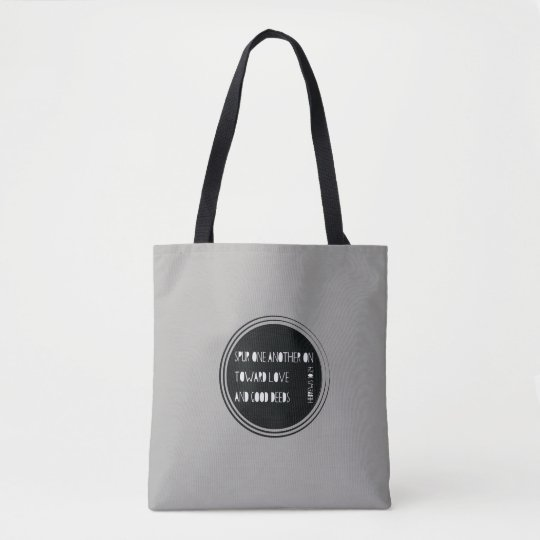 Spur One Another On - Hebrews Tote Bag