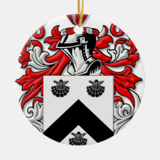 Spurgeon Coat of Arms Double-Sided Ceramic Round Christmas Ornament