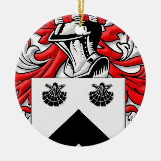 Spurgeon Coat of Arms Round Ceramic Decoration