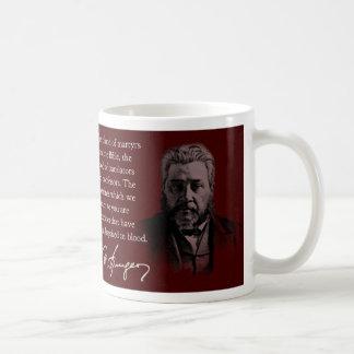 Spurgeon Quote Coffee Mug- The Blood-Stained Bible Coffee Mug