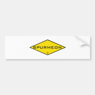 Spurmeon diamond unique motivational design bumper stickers