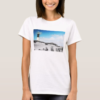 Spurn Point Yorkshire Lighthouse Tshirt
