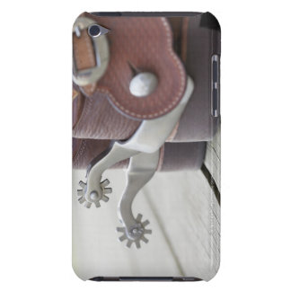 Spurs on cowboy boots iPod touch cover