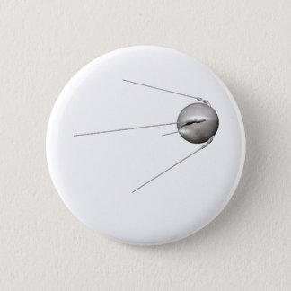 sputnik 1 6 cm round badge