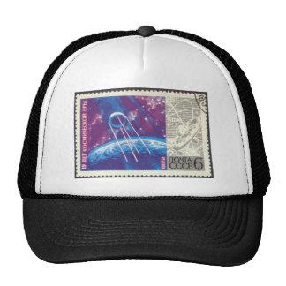 Sputnik 1 Russian Space Science 15 Years Trucker Hat