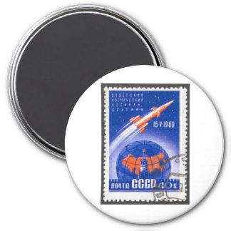 Sputnik 4 May 15 1960 Fridge Magnets