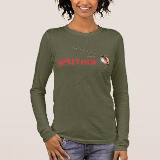 SPUTNIK - space/russian/soviet union/technology Long Sleeve T-Shirt