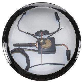 Spy Clock Aquarium Clock