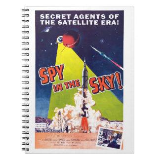 Spy in the Sky Notebook