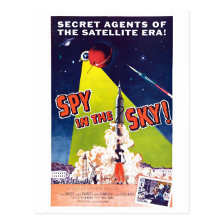 Spy in the Sky Postcard