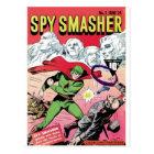 Spy Smasher Postcard