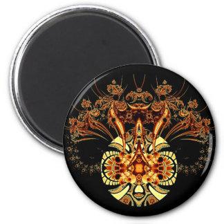 Spyder 6 Cm Round Magnet