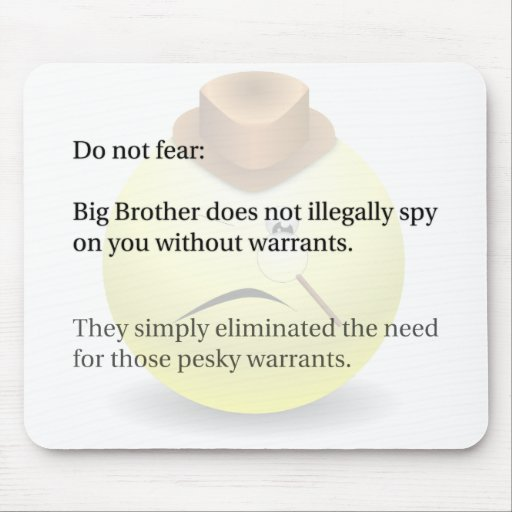 Spying Mousepads