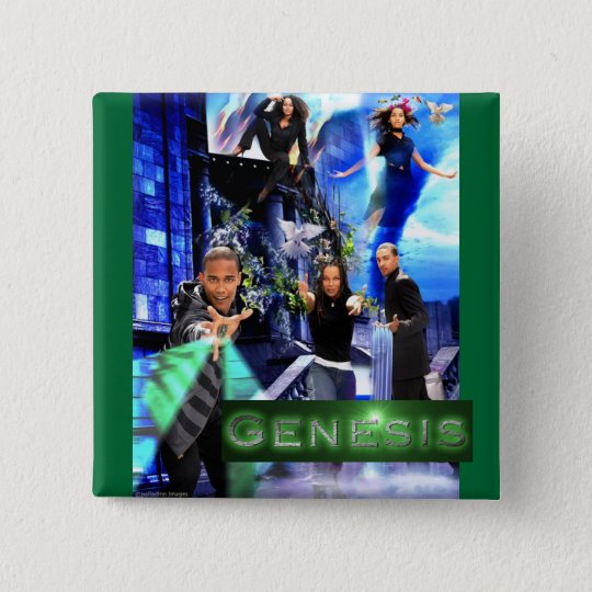 "SQ ""Genesis"" Button - Quincey's Logo"