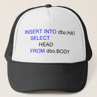 SQL Computer Programmers Hat
