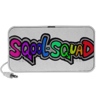 Sqool-Squad logo Doodle Custom Speaker