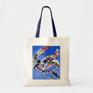 Squadron Insignia Canvas Bag