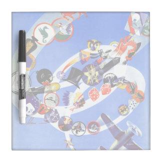 Squadron Insignia Dry Erase Board