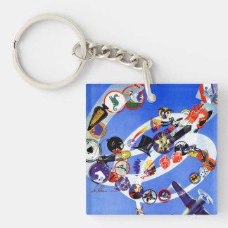 Squadron Insignia Key Ring
