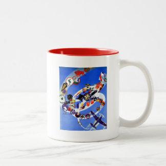 Squadron Insignia Two-Tone Coffee Mug
