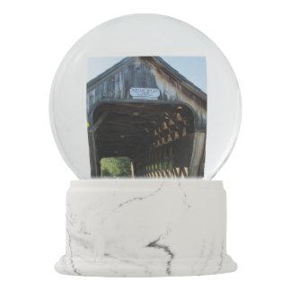 Squam River Covered Bridge Snow Globe